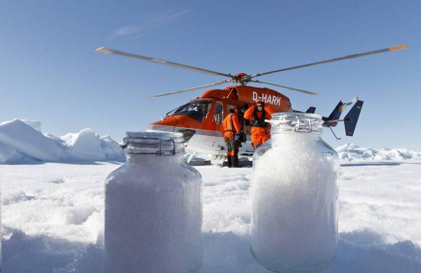 Mikroműanyagok hullanak a hóval is