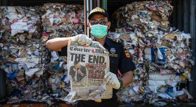 Ausztrália felhagy a hulladék exportjával