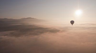 A nap képe: Egy nap a felhők felett