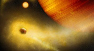 Vulkanikus, Naprendszeren kívüli holdat találhattak