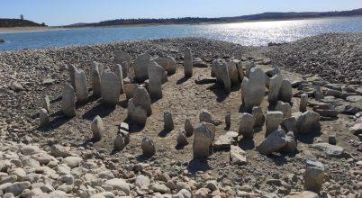 A szárazság hozta felszínre a spanyol Stonehenge-t
