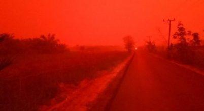 Mintha a Marsot látná az ember, pedig ez Indonézia