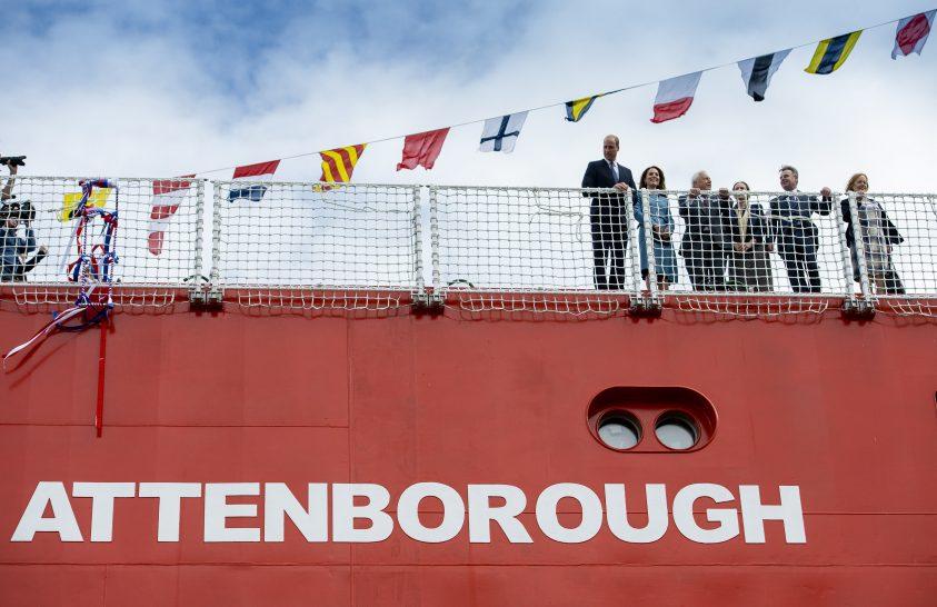 Brit természettudósról neveztek el sarkkutató hajót