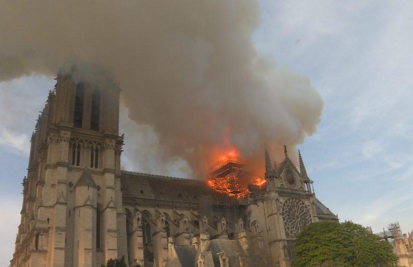 A Notre Dame leégéséről készített dokumentumfilmet a Nat Geo