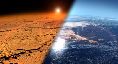 Új mérések utalnak a Mars egykori légkörére