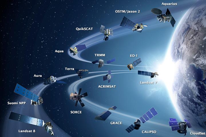 Csúcsforgalom az űrben