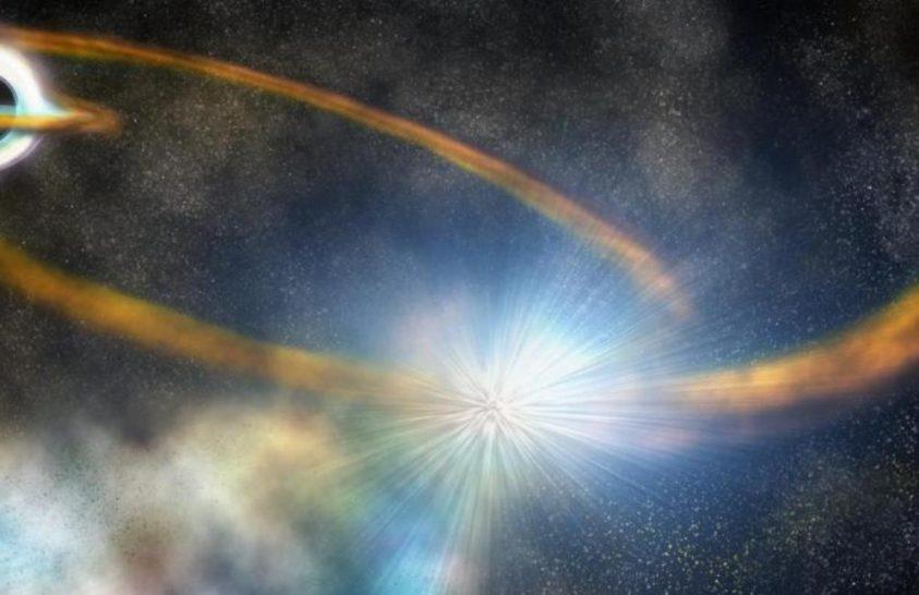Elképesztő erők tépték szét ezt a csillagot