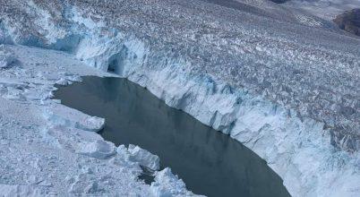 Műholdképek mutatják a grönlandi olvadást