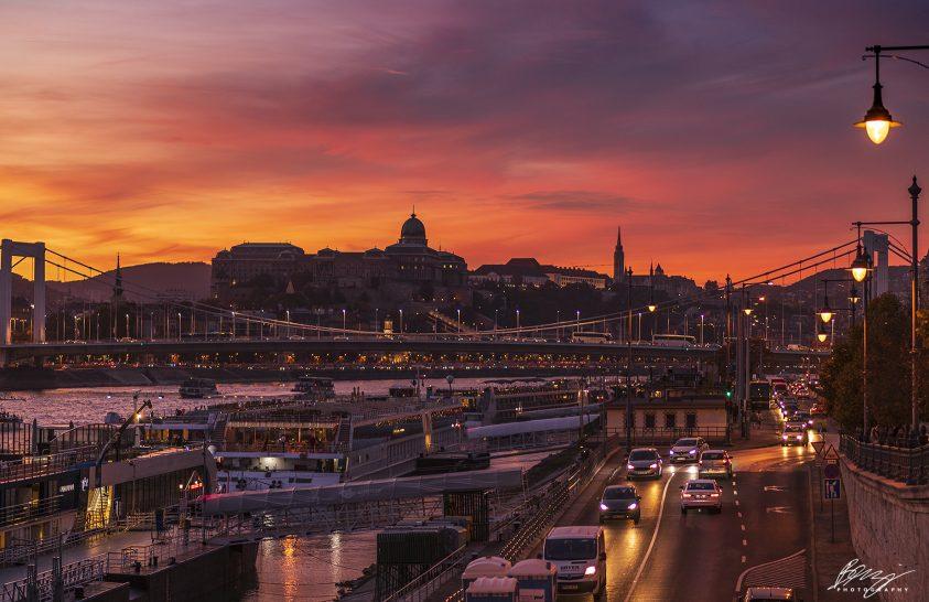 A nap képe: Nyugvóban a város