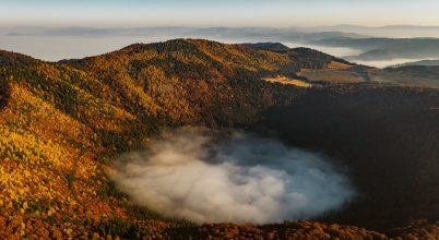 A nap képe: Szent Anna-tó ködfátyol alatt