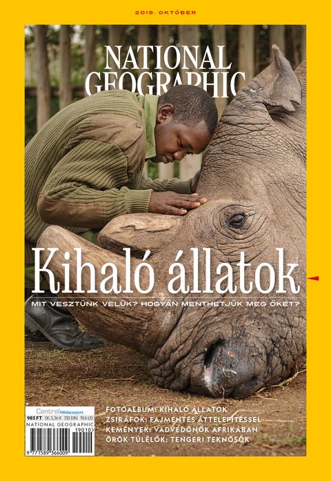 National Geographic Magazin - 2019. október