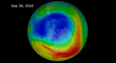 Rekord kicsi lett 2019-ben az ózonlyuk