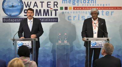 Összefogás szükséges a vízválság megakadályozására!