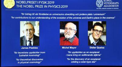 A fizikai Nobel-díj, 2019