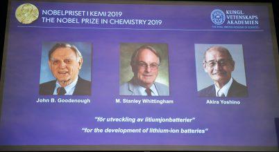 Kémiai Nobel-díj, 2019