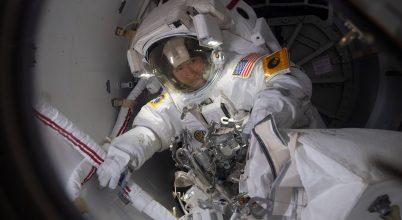 Sikeres munkát végeztek az űrhajósnők