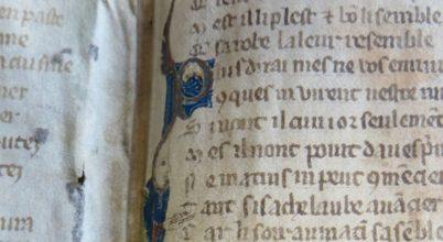 13. századi bestseller részlete került elő