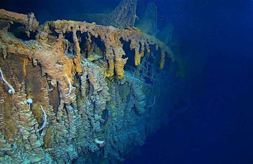 4K felvételek készültek a Titanicról