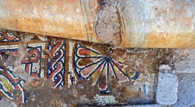 Lenyűgöző mozaikokat találtak az 1500 éves templomban