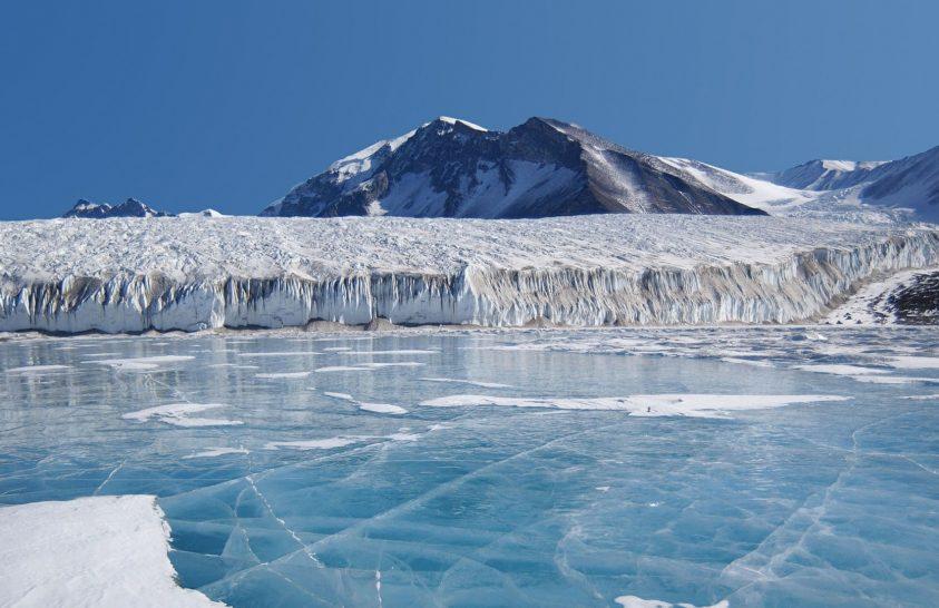 Hidegháborús fegyvertesztek nyomát őrzik az antarktiszi gleccserek