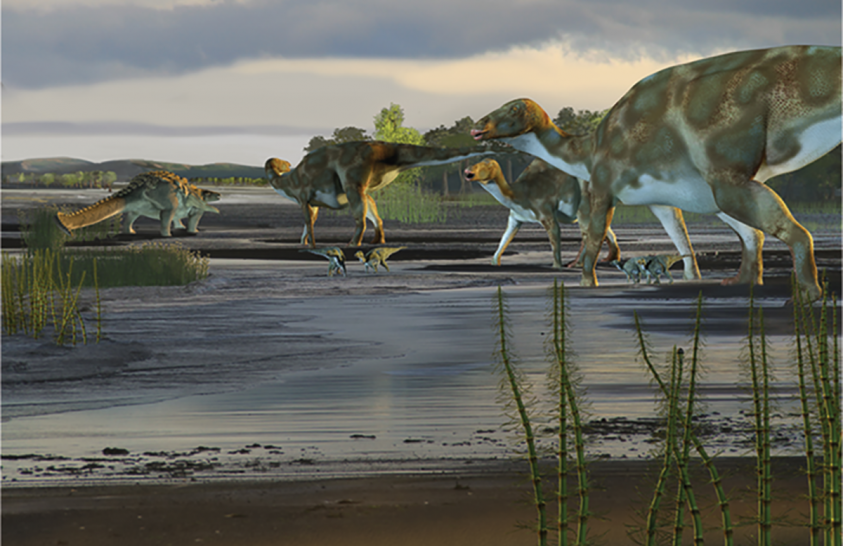 Rengeteg dinoszaurusz-lábnyomot találtak Alaszkában