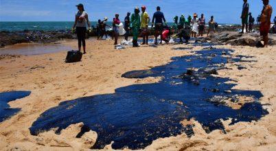 Honnan ered a brazil partokra sodródott kőolaj?