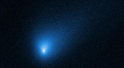 A Hubble is megörökítette a csillagközi üstököst