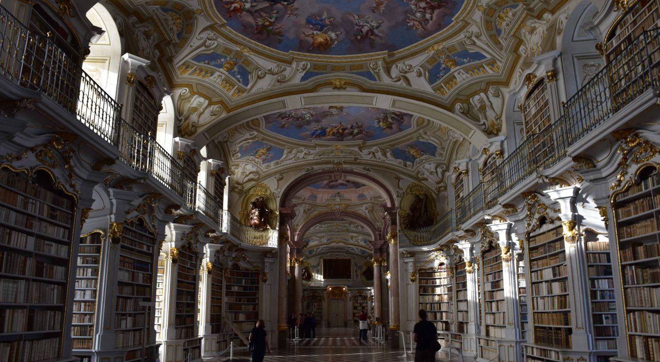 A nap képe: Kolostor könyvtár – Admont