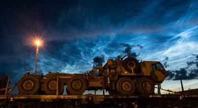 A nap képe: NLC, éjszakai világító felhő.