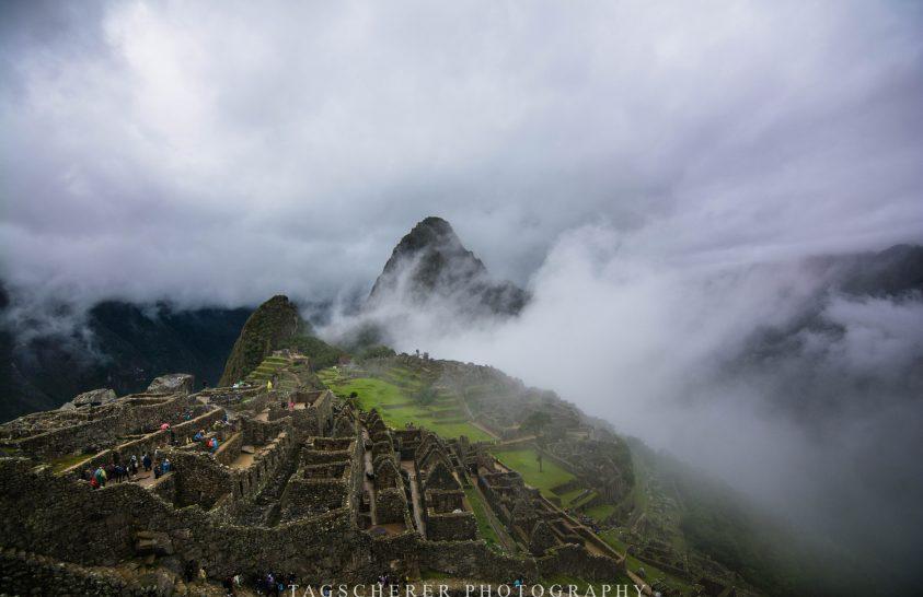 A nap képe: Ködbe vesző inka civilizáció