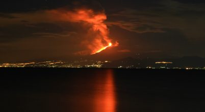 Hol a legveszélyesebb lakni az Etna lejtőin?
