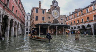 Fél évszázada nem látott áradás csapott le Velencére
