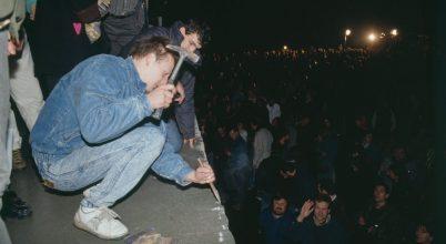 A berlini fal megnyitása