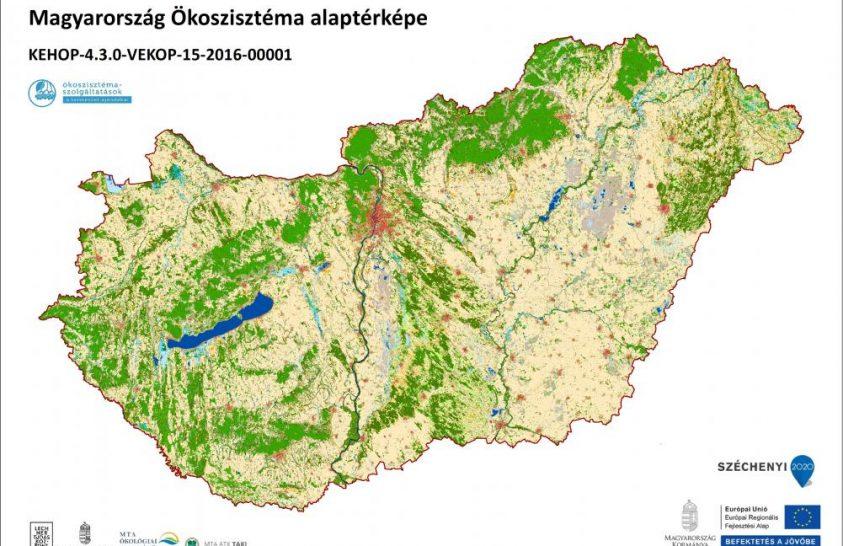 Ökoszisztéma-térkép segíti a természetvédelmet és ökológiai kutatásokat