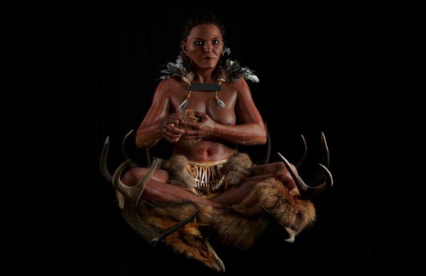 Így nézhetett ki egy ősi sámánnő