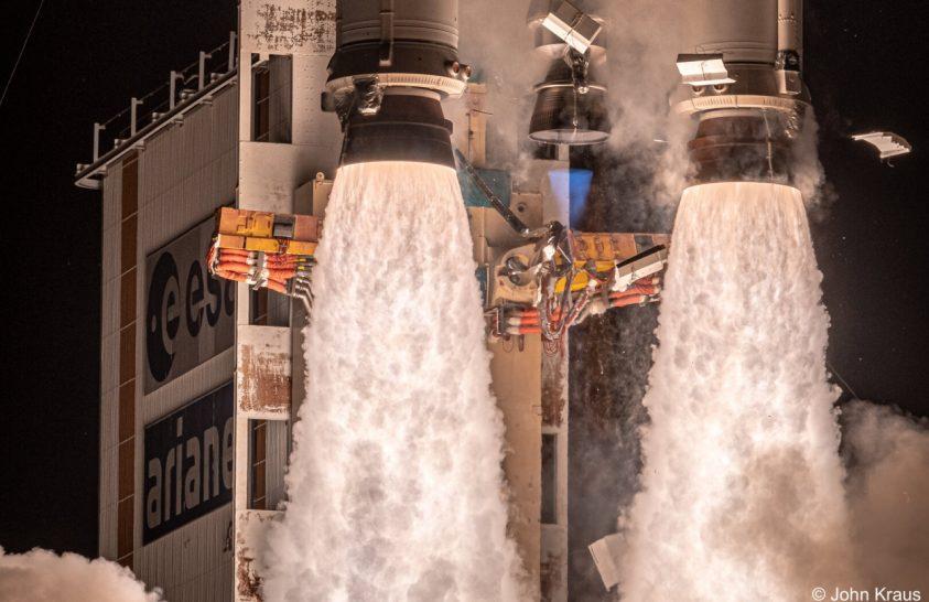 1979-ben startolt az európai Ariane rakéta
