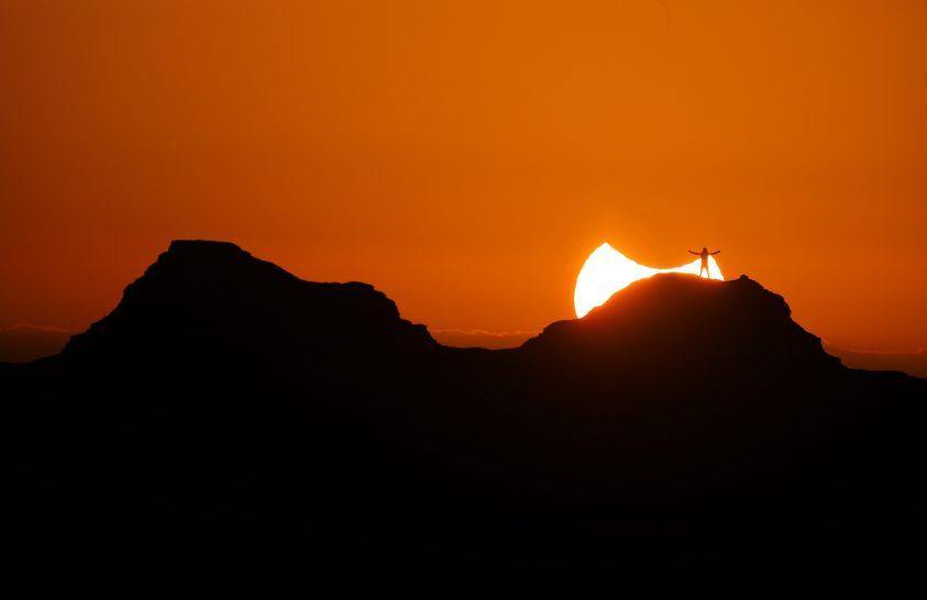 Napfogyatkozás Ománban