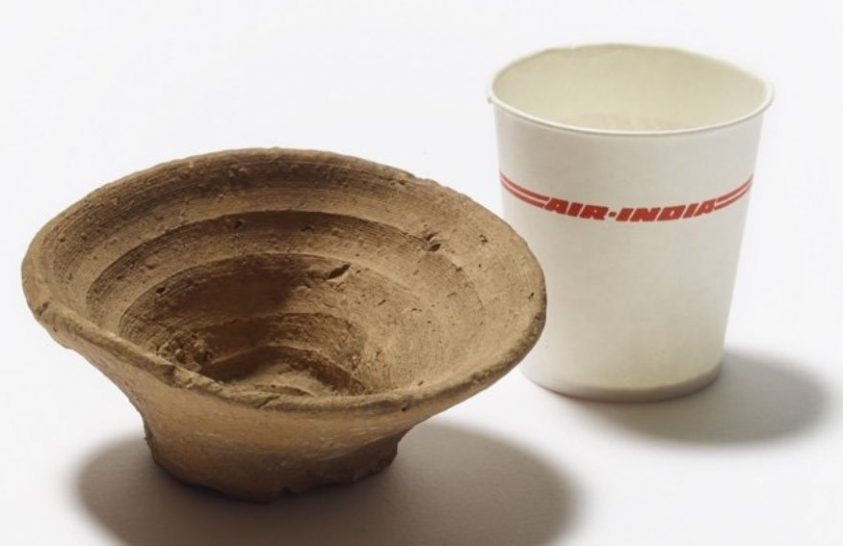 Az eldobható pohár nem modern találmány