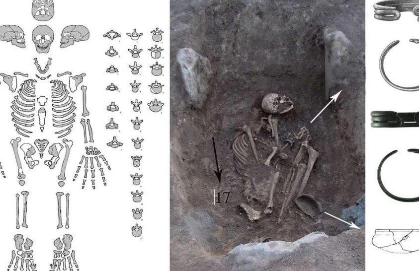 Vaskori harcosnő sírját azonosították