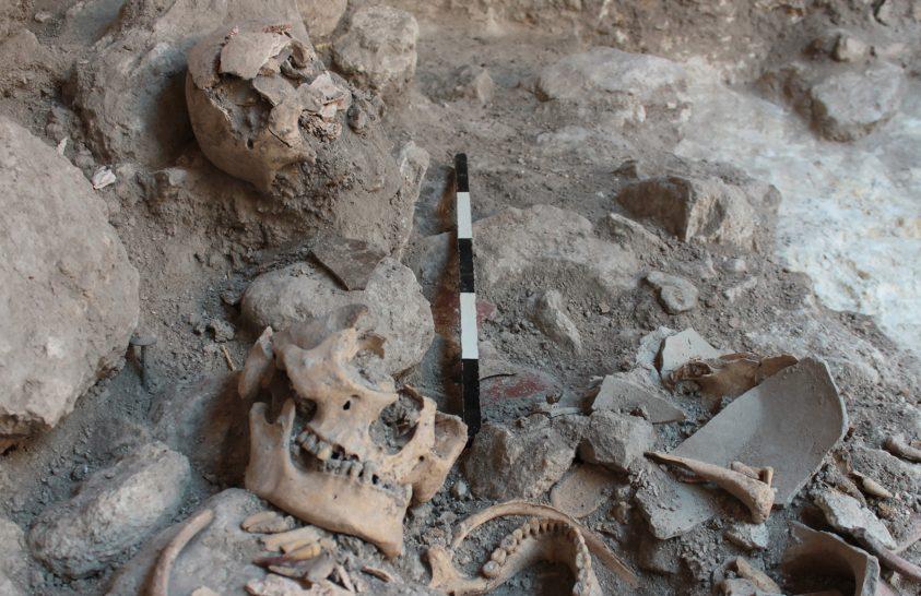 Hadifoglyokat végeztek ki a maja városban