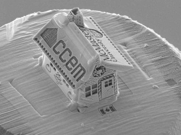 Itt a világ legkisebb mézeskalács házikója!