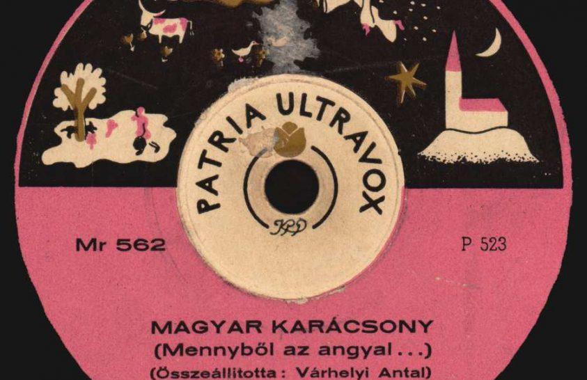 Karácsonyi dalok gramofonfelvételről
