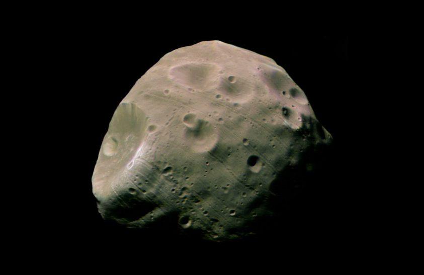 Új felvételek készültek a Mars egyik holdjáról
