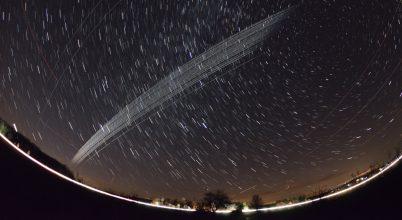 2019. december asztrofotója: Starlink műholdflotta