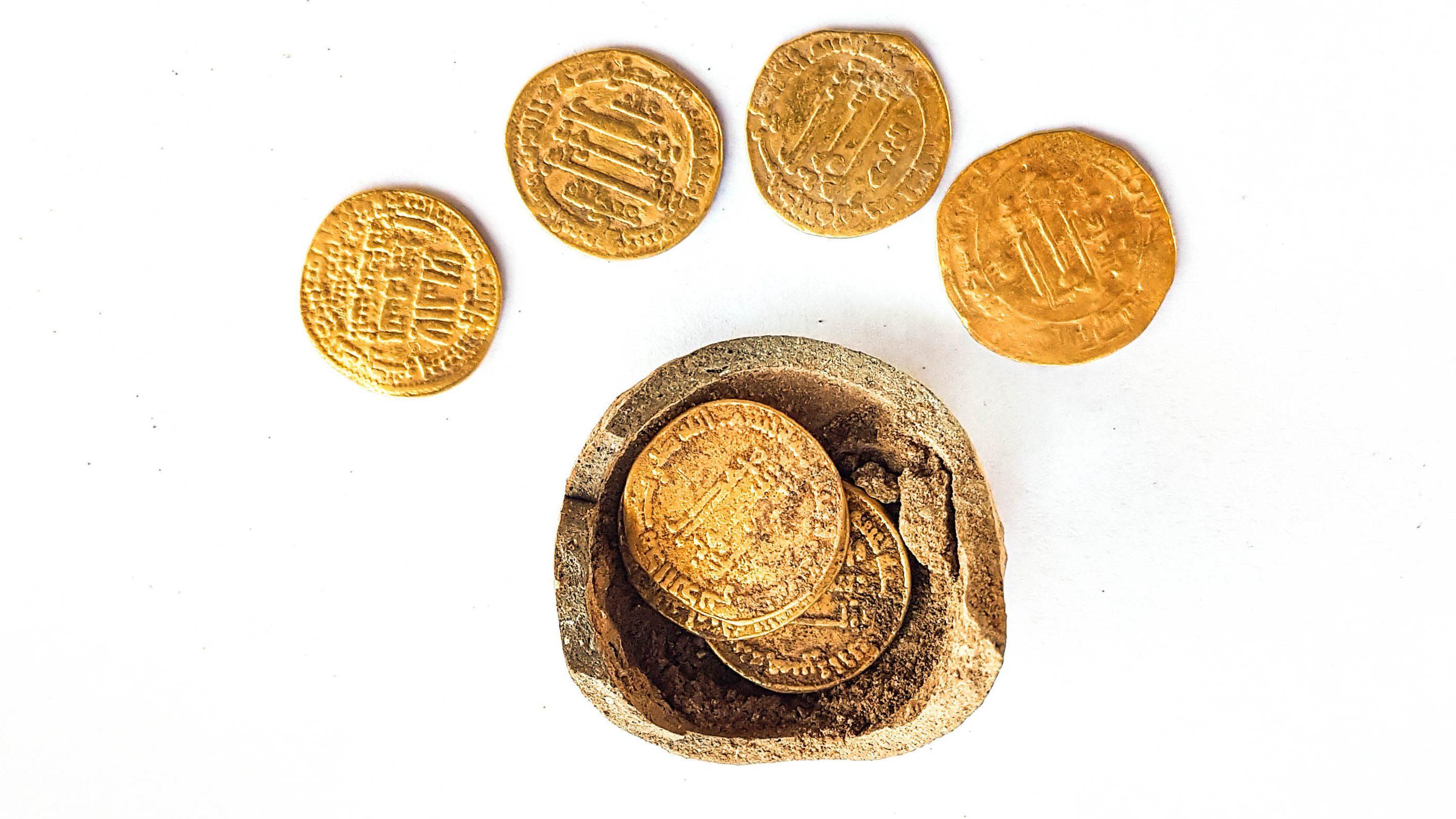 Középkori persely került elő Izraelben