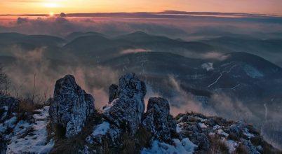 A nap képe: Három-kő napkeltében