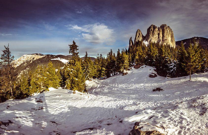 A nap képe: Egyes-kő és a Nagy-Hagymás csúcs