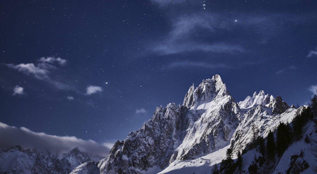 A nap képe: Orion a csúcsok fölött