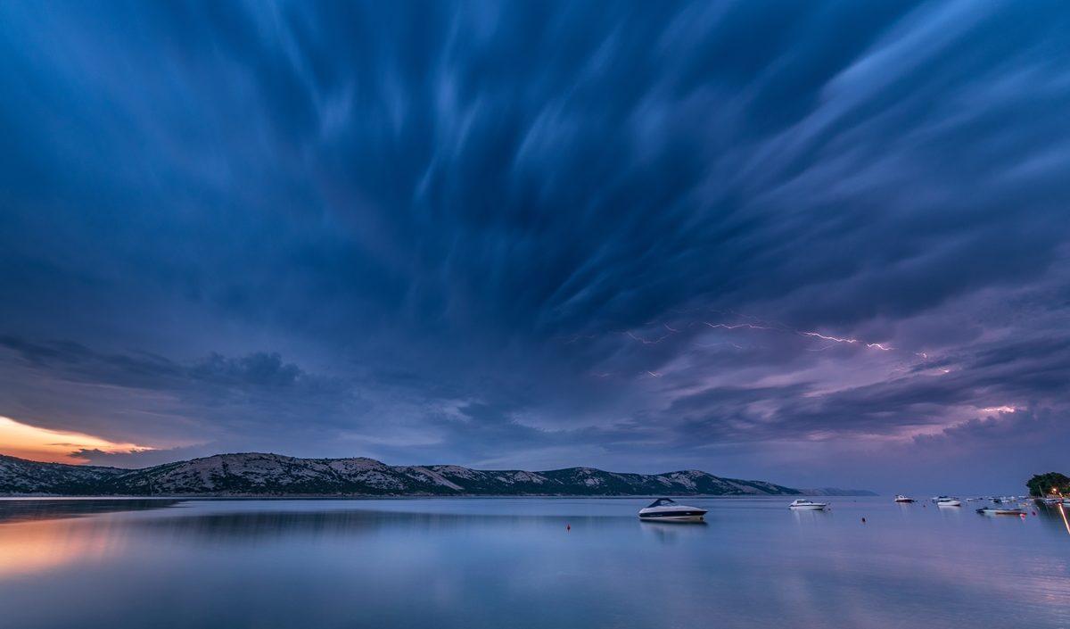 A nap képe: Adriai zivatar