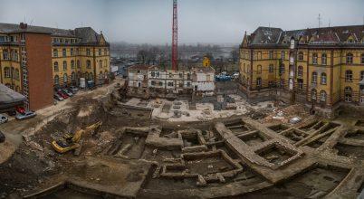 Kétezer éves leletek a Budai Irgalmasrendi Kórház udvarán